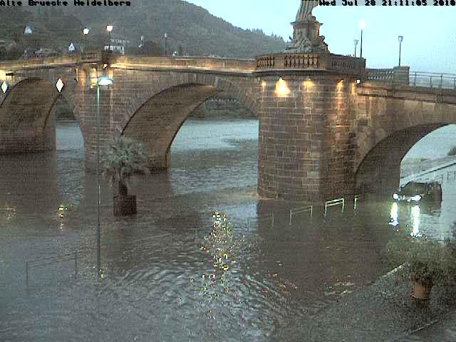 Gewitter Heidelberg